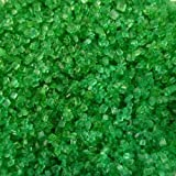 85g Edible Bright Green Sugar Crystals Sprinkles Cup Fairy Birthday Cake Decorations Toppers Mac Millan Macmillan MacMilan Cancer Support Charity Coffee Morning Night In St Patricks Day Christmas Halloween Easter