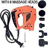 Euopat Masajeador de Fascia, Pistola de Masaje Muscular, masajeador de percusión - Relajación/recuperación del Cuerpo Promover la circulación sanguínea Masajeador de Tejido Profundo eléctrico