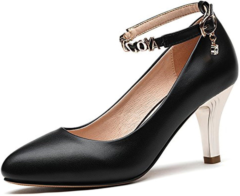 kphy-7cm des chaussures chaussures chaussures à talons hauts talons pointues des femmes minces au printemps et à l'automne, chaussures de femmes sexy sauvage unique superficiel...b07cws9z5w parent 7d7f71
