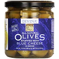 Divina - Olives Stuffed Blue Cheese 13.4 Oz. 178171