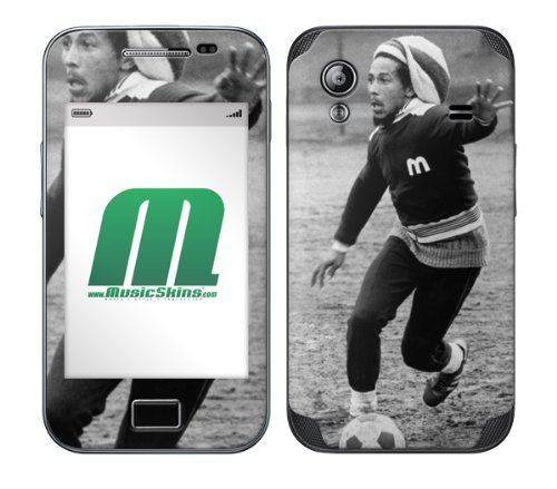 MusicSkins - Skin Protettiva per Samsung Galaxy Ace (GT-S5830), Motivo Bob Marley One Love