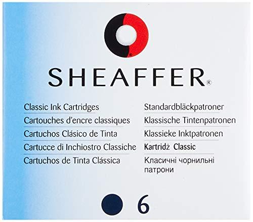 Sheaffer 96213 - Cartuchos tinta recambio pluma estilográfica
