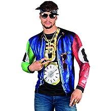 Boland 84215 - Camisa Rapper fotorrealista 047e04da5d8