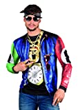 Boland 84215 - Fotorealistisches Shirt Rapper, Kostüme für Erwachsene