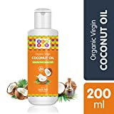Bey Bee organic coconut oil is made from cold pressed fresh white coconuts which makes hundred percent natural and extra virgin thereby keeping all the antioxidants, nutrients and flavours intact. This enriched coconut oil locks in up to 10 times mor...