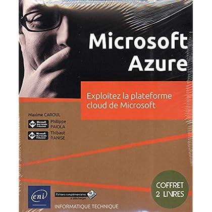 Microsoft Azure - Coffret de 2 livres : Exploitez la plateforme cloud de Microsoft