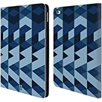Official One Direction 1D Blue Geometric Camo