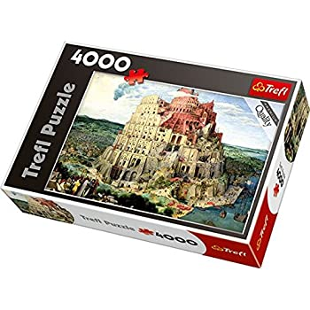 Trefl 45001 Quot The Tower Of Babel Puzzle 4000 Piece