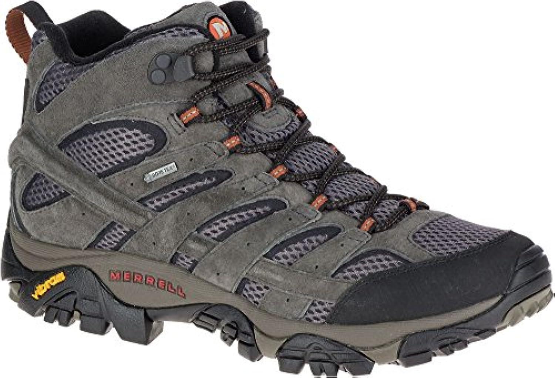 Merrell Shoes Moab 2 LTR Mid GoreTex J18419 Beluga UK 12.5