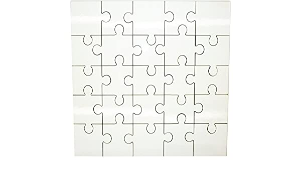 MDF Blank Sublimation Square Jigsaw Puzzle 17 cm x 17cm