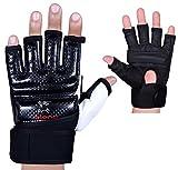 Gel-Handschuhe von Islero aus Leder für MMA, Boxen, Karate und andere Kampfkünste, M