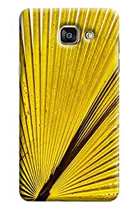 Blue Throat Bouque Leaf Printed Designer Back Cover/Case For Samsung Galaxy A7 2016