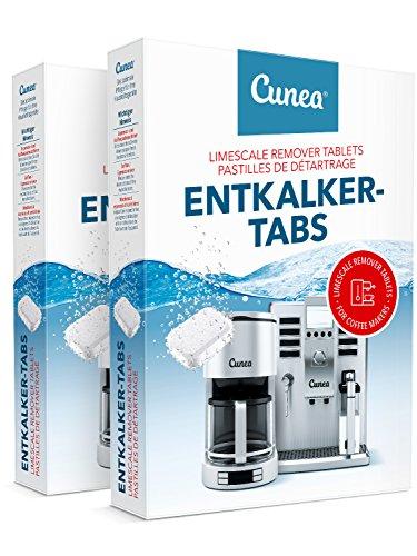 Entkalkertabletten für Kaffeevollatomaten 40x Entkalker-Tabs - Geeignet für Wasserkocher...