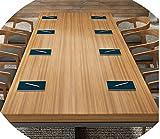 Schreibtisch Aus Schmiedeeisen, Konferenztisch, Langer Tisch, Esstisch, Verhandlungstisch Für Schulungen, Moderner Computertisch,280 * 100 * 75,5 cm dick