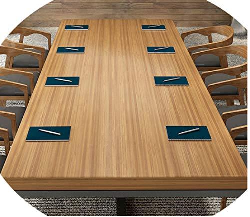 Schreibtisch Aus Schmiedeeisen, Konferenztisch, Langer Tisch, Esstisch, Verhandlungstisch Für Schulungen, Moderner Computertisch,280 * 100 * 75,5 cm...