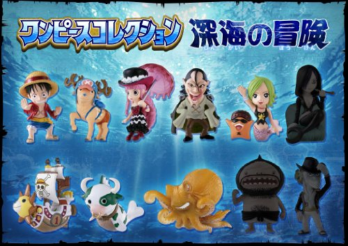 one piece - pack 11 figurines color