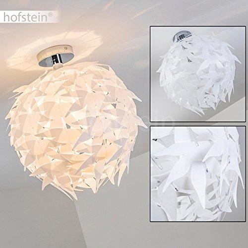 ... Extravagante Deckenleuchte In Weiß U2013 Designer Deckenspot Dokkas Aus  Metall U2013 Wohnzimmer Deckenlampe Sehr Auffällig ...