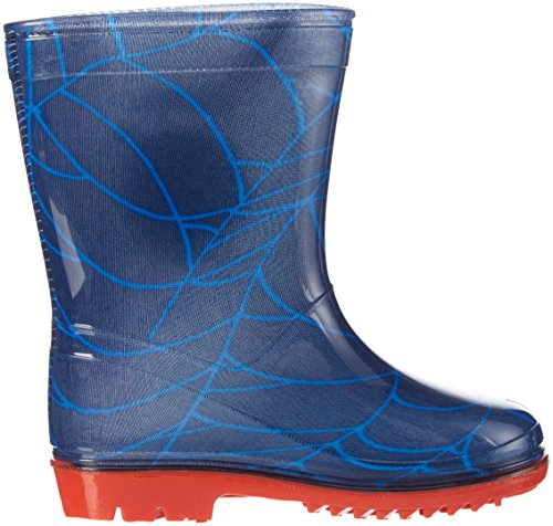 Spiderman Jungen Boys Kids Rainboots Boots Gummistiefel Blau (NAVY NAV)