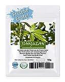 JIAOGULAN (Unsterblichkeitskraut) - Natürliche Wildsammlung | Ganze Blätter | TOP-Qualität vom Original | ISO-9001-zertifiziert | 100% rein + laborgeprüft + schonend getrocknet | 200g