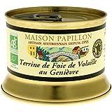 Maison Papillon Geflügelterrine mit Wacholder (130 g) - Bio