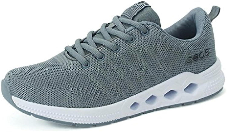 Herren Das neue Draussen Atmungsaktiv Laufschuhe Mode Trainer Rutschfest Flache Schuhe LAtildecurrenssige Schuhe Licht GemAtildefrac14tlich