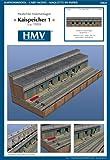 HMV 3464 Kartonmodell Hafenmodul - Kaispeicher 1