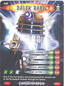 Doctor Who Battles In Time Exterminator Common Card #240 Dalek Rabe