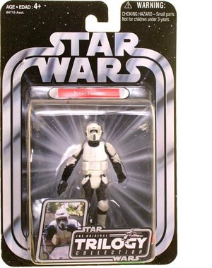 Hasbro Biker Scout Trooper Endor Raid Return of The Jedi - Star Wars The Original Trilogy Collection 2004 (OTC)
