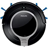 Philips SmartPro Active - Robot aspirador, diseño súper compacto 6 cm, sistema de limpieza de 2 fases