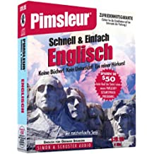 Pimsleur English for German Speakers Quick & Simple Course - Level 1 Lessons 1-8 CD: Learn to Speak and Understand English for German with Pimsleur La (Pimsleur Language Program)
