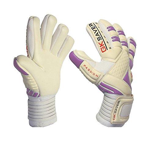 GK Saver Fussball Torwart Handschuhe Negative Cut-Fußballspieler-Torwart-Handschuhe, 8/9/10/11 (DE) YES personalization 10 Adult