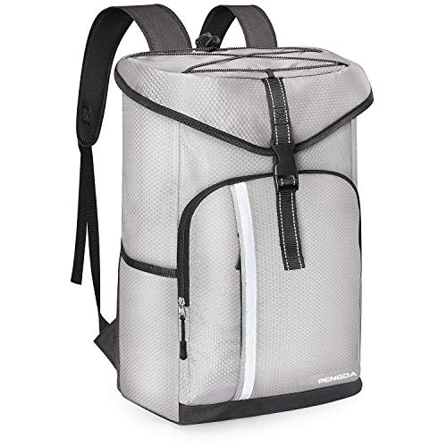 9d255b8c687aa PENGDA 30L Kühl Rucksack Kühltasche - Groß Kühlrucksack Wasserdichten  Ultraleicht Rucksäcke Damen He