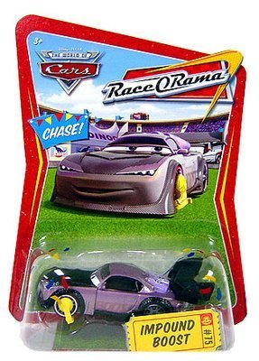 Disney / Pixar CARS Movie 1:55 Die Cast Car Race-O-Rama Series Impound Boost by Mattel