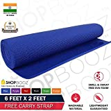 SBZ - SHOPBOOZ Yoga Mat Anti Skid Yogamat for Gym Workout and Flooring