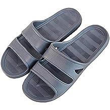 bae68aefd1c Mini Balabala Pantoufles Antidérapantes pour Femmes Hommes Été Bain  Sandales Intérieur Anti-Slip Douche Couple