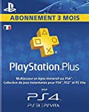 Playstation Plus LiveCards - Abonnement 3 mois