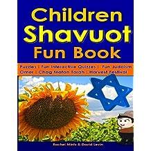 Children Shavuot Fun Book: Fun Puzzles | Fun Judaism Quizzes