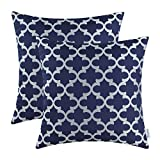 CaliTime Pack of 2 Soft Throw Pillow Covers Cases for Bench Sofa Modern