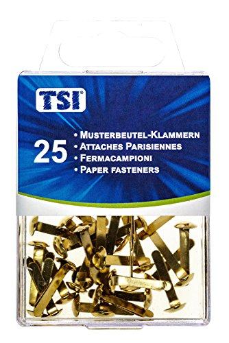 TSI Musterbeutelklammern, 25-er Packung