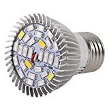 MachinYesity La pianta del LED coltiva la Luce Piena Spettro 8 / 28W E27 pianta Crescente Lampada idroponica per la Serra Interna Fiore Crescere Box