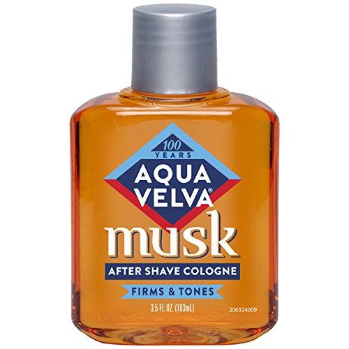 Aqua Velva Musk Aftershave Cologne 103 ml (Aftershave-Cremes & -Balsame)