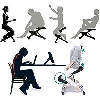 hukoer ergonómico estudiante silla/silla de ordenador de casa de acero/postura corrección de escritura silla