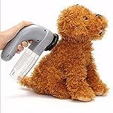 SODIAL Dispositivo di aspirazione elettrico per la rimozione dei peli di animali domestici per il sistema di pulizia per gatti Cat Grooming