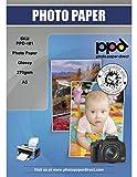PPD DIN A5 Inkjet Fotopapier hochglänzend 270g Super Premium, DIN A5 x 50 Blatt PPD-101-50