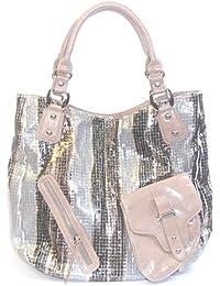 DIETZ Shopper im metallic look 44x34x13cm