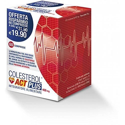 Colesterol Act Plus Integratore Alimentare 60 Compresse Da 400mg