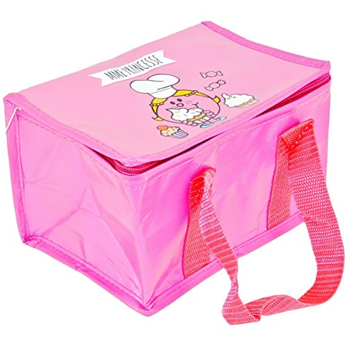Mr et Mme - Lunch Bag Enfant Sac Repas Isotherme Mr Et Mme Princesse Rose