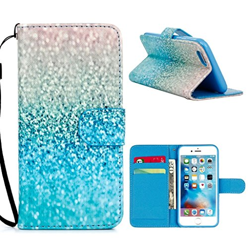 hyait® for iPhone 6/6S (4.7Zoll) Case Flip Leather Wallet With Card Holder and Kickstand Case Cover zmd12 ZMD03