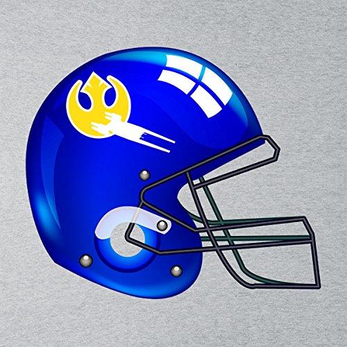 Star Wars Rogue One U Wing Football Helmet Women's Vest Heather Grey