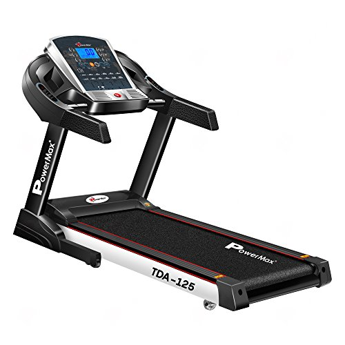 Powermax Fitness TDA-125 2HP (4HP peak) Motorized Treadmill with Auto-Inclination...